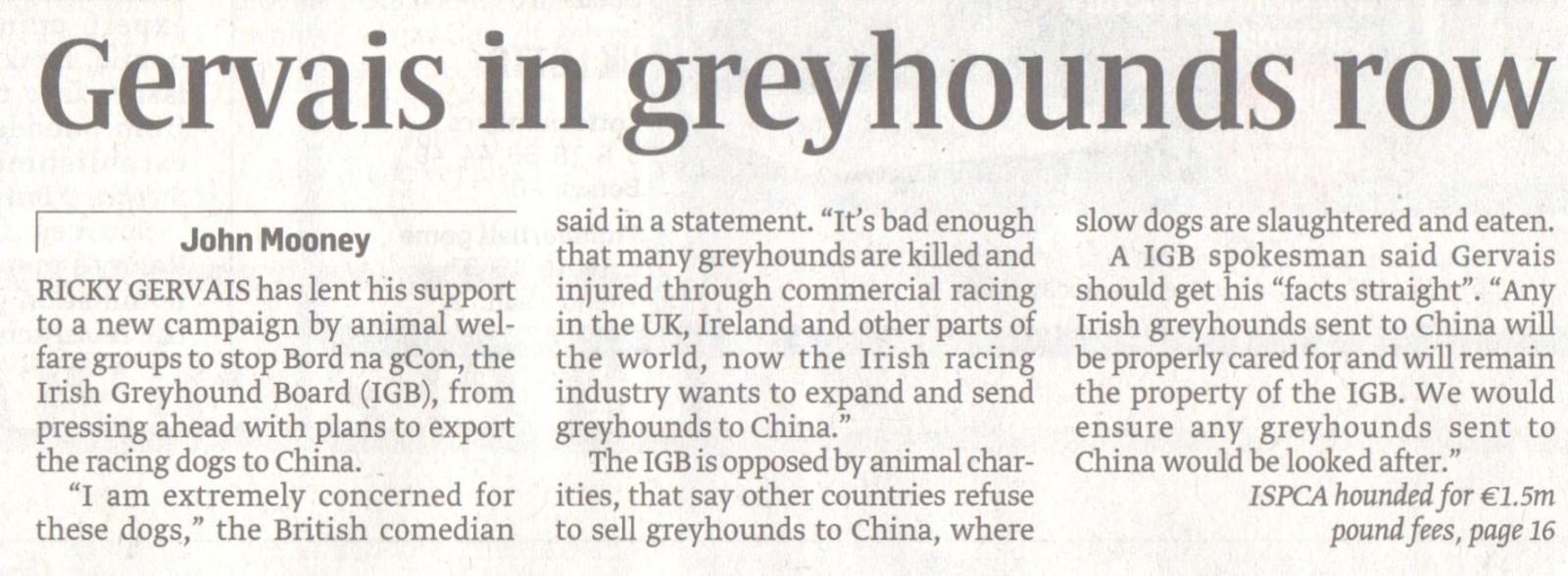 Irish Sunday Times - RG