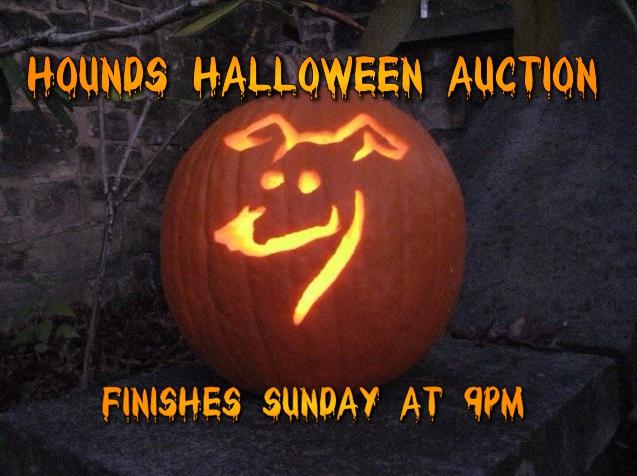 halloween auction